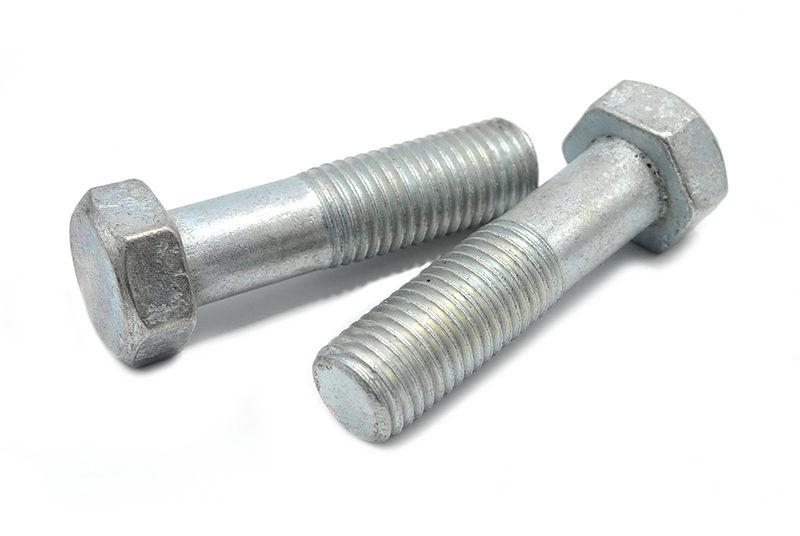 Болт нержавейка металлический, шестигранный ГОСТ, нержавеющий